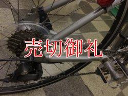 画像3: 〔中古自転車〕ブリヂストン アンカー ANCHOR RA700 ロードバイク 700×25C 2×8段変速 アルミフレーム キャリパーブレーキ グレー