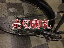画像3: 〔中古自転車〕マルイシ シティサイクル 27インチ 外装6段変速 3LEDオートライト ローラーブレーキ BAA自転車安全基準適合 シルバー