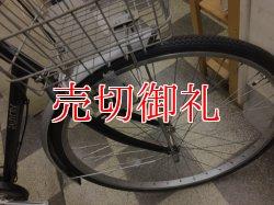 画像2: 〔中古自転車〕シティサイクル 27インチ シングル タイヤ新品 ブラック