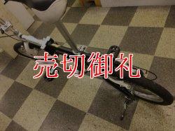画像4: 〔中古自転車〕DOPPELGANGER(ドッペルギャンガー) 折りたたみ自転車 16インチ 外装6段変速 軽量アルミフレーム ブッラク×ホワイト