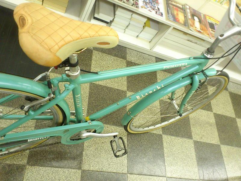 自転車の 自転車 アルミフレーム 修理 : ... アルミフレーム チェレステ [103