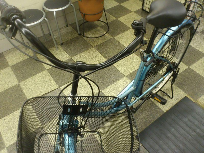 中古自転車〕シティサイクル ...