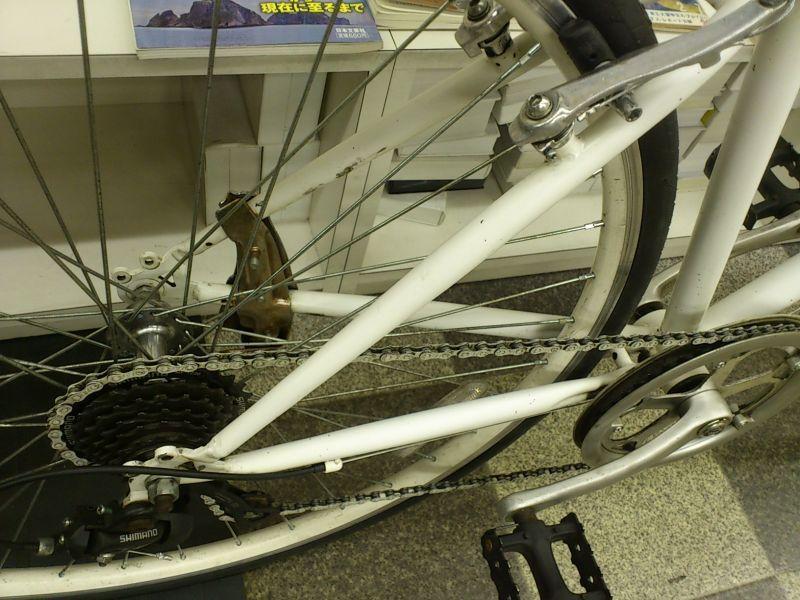 自転車の 自転車 タイヤ サイズ 700 : 画像3: 〔中古自転車〕アサヒ ...