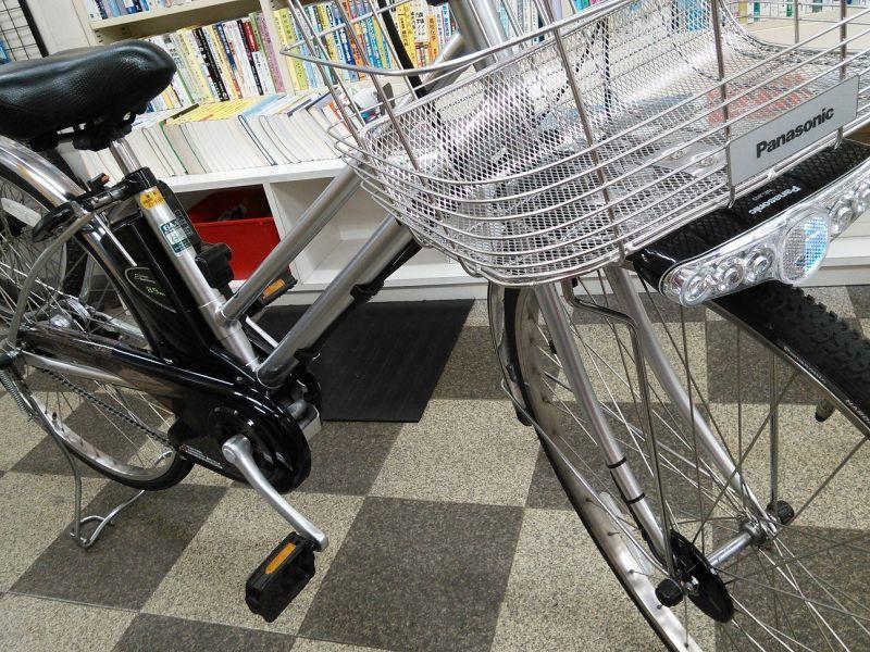 電動自転車 パナソニック 電動自転車 ビビ 価格 : ... 2007 古本と中古自転車の現代屋