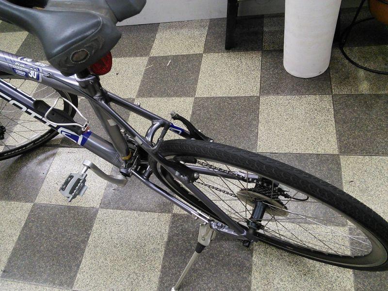 自転車の スコット 自転車 クロス : 中古自転車〕SCOTT スコット ...