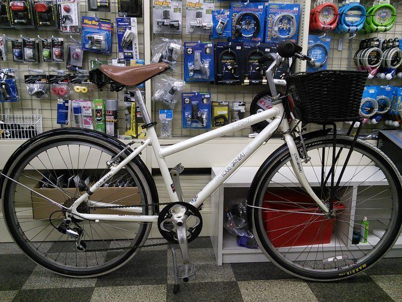 自転車の クロス 自転車 カゴ : 中古自転車〕LOUIS GARNEAU ...