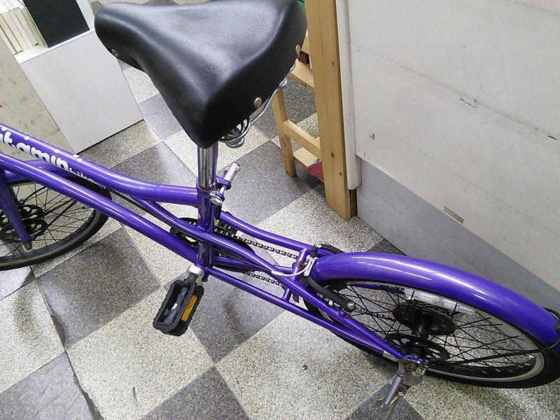 自転車の 自転車 修理 出張 目黒区 : 画像4: 〔中古自転車〕ミニベロ ...