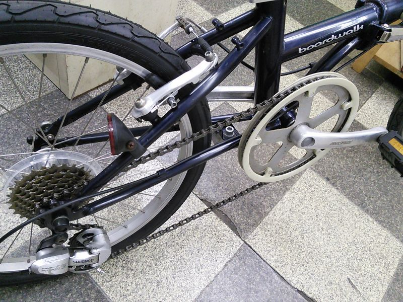 自転車の 自転車 カラータイヤ 20インチ : ... 自転車 20インチ 外装7段変速