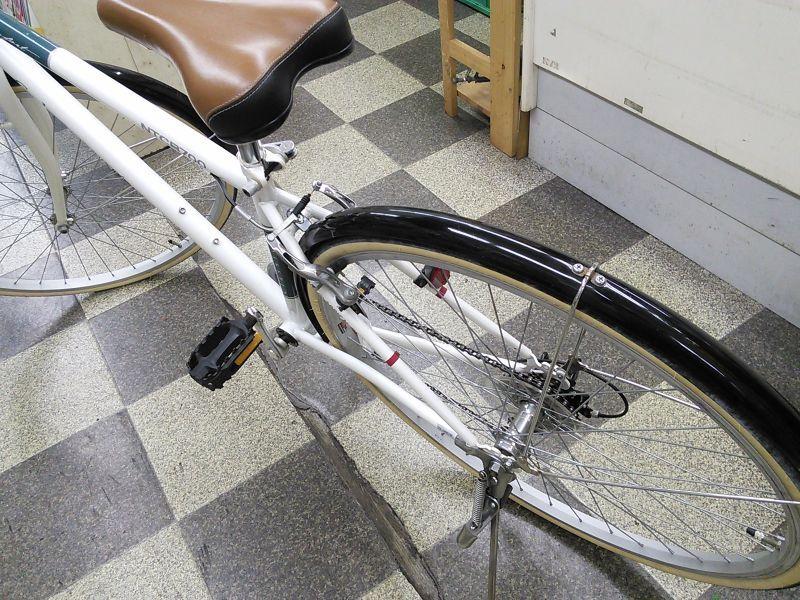 自転車の クロス 自転車 カゴ : 中古自転車〕シティクロス ...