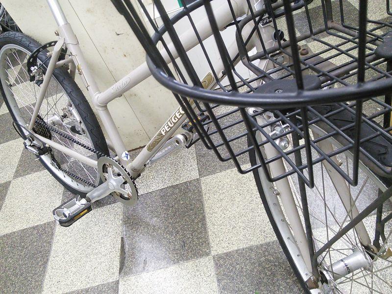 自転車の クロス 自転車 カゴ : 画像2: 〔中古自転車〕PEUGEOT ...