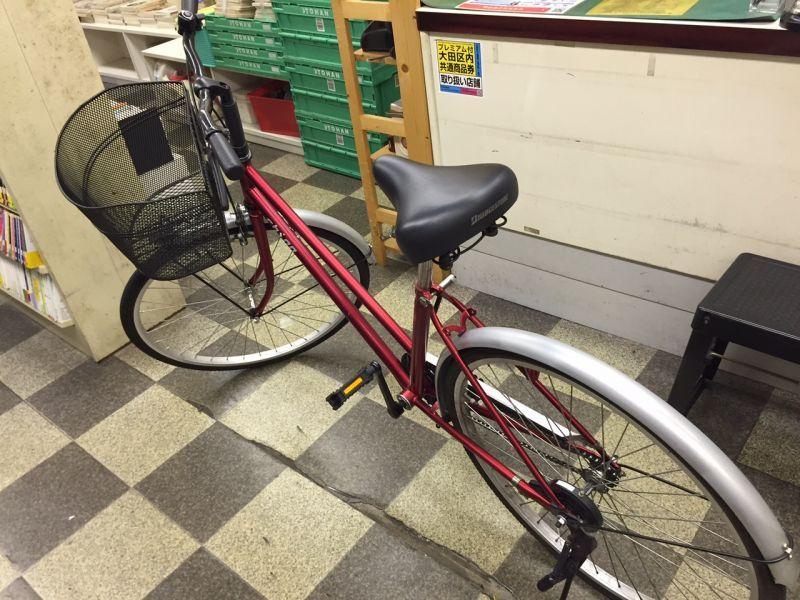 自転車の 自転車 変速機 調整 価格 : 画像4: 〔中古自転車〕シティ ...