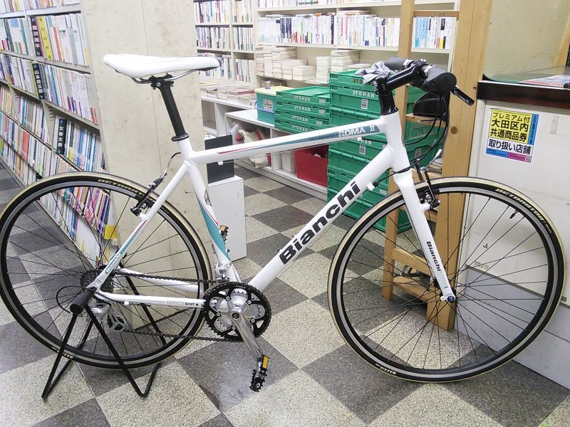 自転車の 自転車 タイヤ サイズ 700 : 画像1: 〔中古自転車〕Bianchi ...
