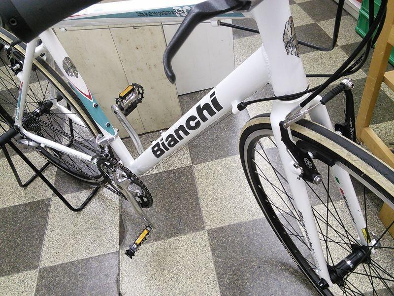 自転車の ビアンキ 自転車 中古 : 中古自転車〕Bianchi ROMA2 ...