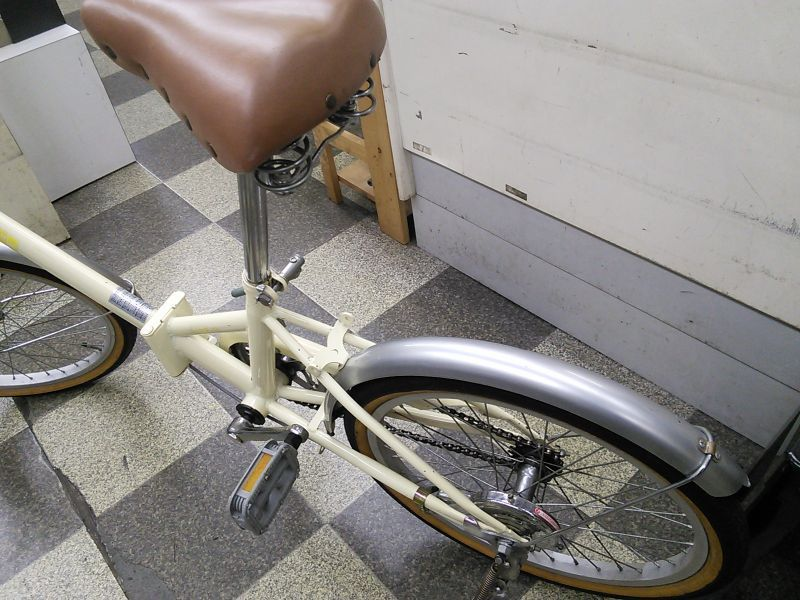 自転車の 自転車 変速機 調整 価格 : 中古自転車〕折りたたみ自転車 ...
