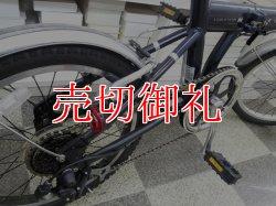 画像3: 〔中古自転車〕ROVER ローバー 折りたたみ自転車 18インチ 6段変速 アルミフレーム ダークブルー