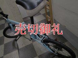 画像4: 〔中古自転車〕RENAULT ルノー 折りたたみ自転車 18インチ 外装6段変速 ライトブルー
