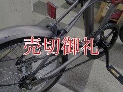 画像3: 〔中古自転車〕折りたたみ自転車 16インチ シングル グレー