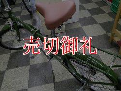 画像4: 〔中古自転車〕折りたたみ自転車 20インチ シングル 同色パイプキャリア グリーン