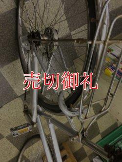 画像3: 〔中古自転車〕ブリヂストン シティサイクル 27インチ 内装3段変速 LEDオートライト ハンドルロック シルバー