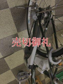 画像3: 〔中古自転車〕ナショナル 電動アシスト自転車 26ンチ 内装3段 アルミフレーム ニッケル水素バッテリー実走行5km程度 グリーン