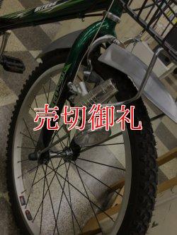 画像2: 〔中古自転車〕ミヤタ ジュニアサイクル ジュニアマウンテンバイク 22インチ 外装7段変速 リモートレバーライト BAA自転車安全基準適合 状態良好 グリーン