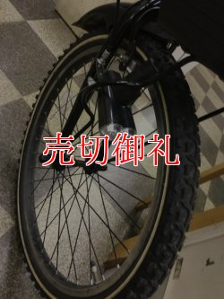 画像2: 〔中古自転車〕シボレー ジュニアサイクル ジュニアマウンテンバイク 22インチ 外装6段変速 リモートレバーライト ブラック