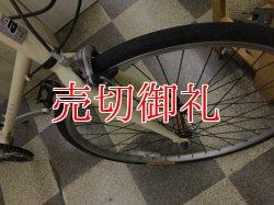 画像2: 〔中古自転車〕RAECTIL レクティル クロスバイク 650×25C 外装7段変速 クロモリ タイヤ新品 ホワイト