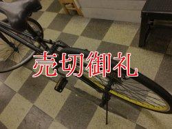 画像4: 〔中古自転車〕クロスバイク 700×35C 外装6段変速 アルミフレーム Vブレーキ ブラック