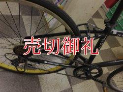 画像3: 〔中古自転車〕クロスバイク 700×35C 外装6段変速 アルミフレーム Vブレーキ ブラック