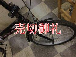 画像2: 〔中古自転車〕折りたたみ自転車 20インチ 外装6段変速 ブラック