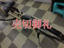 画像4: 〔中古自転車〕シティクロス 700×35C 外装6段変速 LEDオートライト 前カゴ付 ゴールド