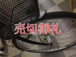 画像2: 〔中古自転車〕シティサイクル ママチャリ 26インチ シングル LEDオートライト ブラック