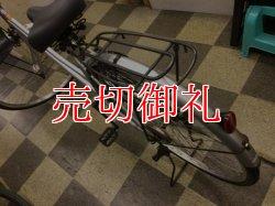 画像4: 〔中古自転車〕シティサイクル ママチャリ 27インチ シングル LEDオートライト シルバー