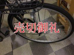 画像2: 〔中古自転車〕シティクロス 27インチ 外装6段変速 LEDオートライト Vブレーキ ブラック