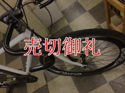 画像2: 〔中古自転車〕ロードバイク 700×28C 7段変速 アルミフレーム ホワイト