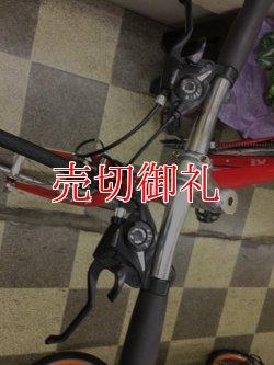 画像5: 〔中古自転車〕カルチャーバイク ロードバイク 700×28C 3×8段変速 アルミフレーム レッド