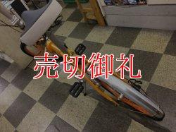 画像4: 〔中古自転車〕MINI ミニ 折りたたみ自転車 20インチ 外装6段変速 軽量アルミフレーム オレンジ
