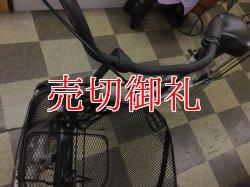 画像5: 〔中古自転車〕シティサイクル ママチャリ 27インチ シングル LEDライト シルバー