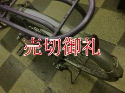 画像4: 〔中古自転車〕サイモト シティサイクル ママチャリ 24インチ 内装3段変速 LEDオートライト ローラーブレーキ BAA自転車安全基準適合 パープル