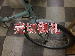 画像2: 〔中古自転車〕Bianchi lepre ビアンキ レプレ 20インチ 2×9段変速 アルミフレーム チェレステ