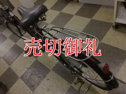 画像4: 〔中古自転車〕シティサイクル ママチャリ 20インチ シングル ローラーブレーキ ブラウン