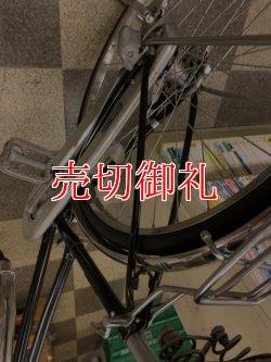 画像3: 〔中古自転車〕ブリヂストン シティサイクル ママチャリ 27インチ 内装3段変速 LEDオートライト ローラーブレーキ BAA自転車安全基準適合 ブラック