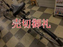 画像4: 〔中古自転車〕良品計画(無印良品) シティサイクル 26インチ シングル オートライト 大型ステンレスカゴ ブラック