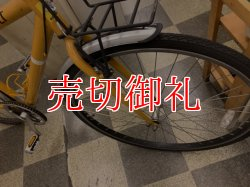 画像2: 〔中古自転車〕RENAULT ルノー クロスバイク 700×32C 外装6段変速 Vブレーキ ライトブラウン