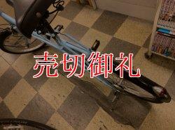 画像4: 〔中古自転車〕ミニベロ 小径車 20インチ 6段変速 LEDダイナモライト ライトブルー