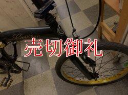 画像2: 〔中古自転車〕キャディラック 折りたたみ自転車 20インチ シングル ブラック