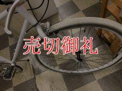 画像2: 〔中古自転車〕クロスバイク 700×28C 外装6段変速 Vブレーキ ホワイト