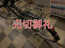 画像4: 〔中古自転車〕シティサイクル ママチャリ 26インチ シングル LEDオートライト グリーン