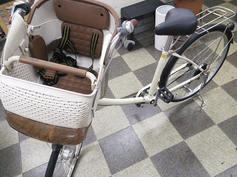 画像5: 〔中古自転車〕良品計画(無印良品) 子供乗せ自転車