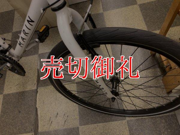 画像2: 〔中古自転車〕MARIN マリーン クロスバイク 26×1.50 3×8段変速 Vブレーキ ホワイト